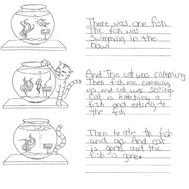 Grade 2 Level 2 Writing Sample