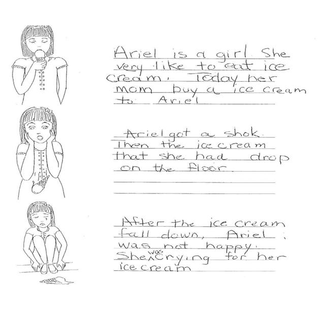 Grade 5 Level 2 Writing Sample